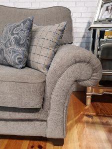 Scroll Arm Sofa