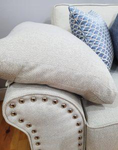 Pillow top arm