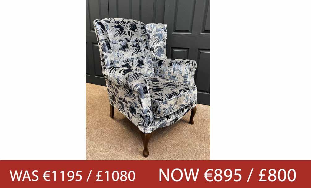 ↑ Grand Queen Anne Chair↑